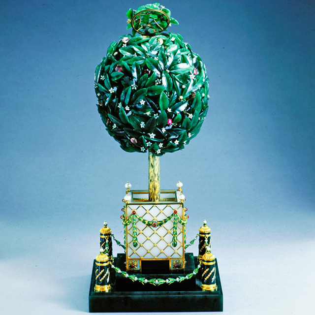 Fabergé Egg – Bay-Tree Egg, 1911