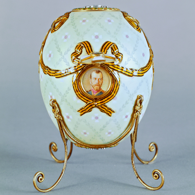 Fabergé Egg – Order of St. George Egg, 1916