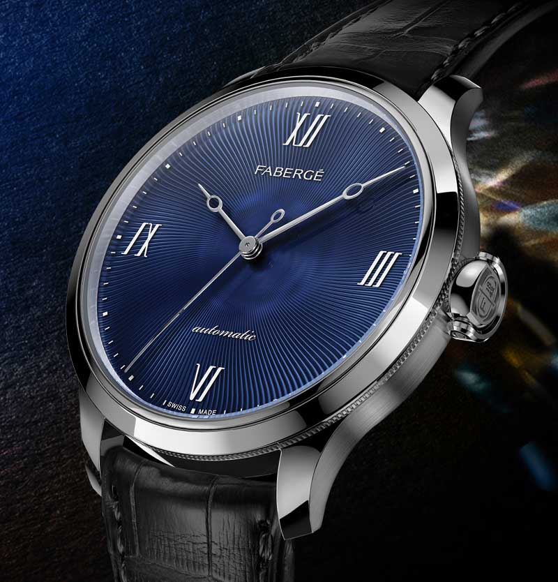 Men's timepiece from Fabergé Altruist Collection.