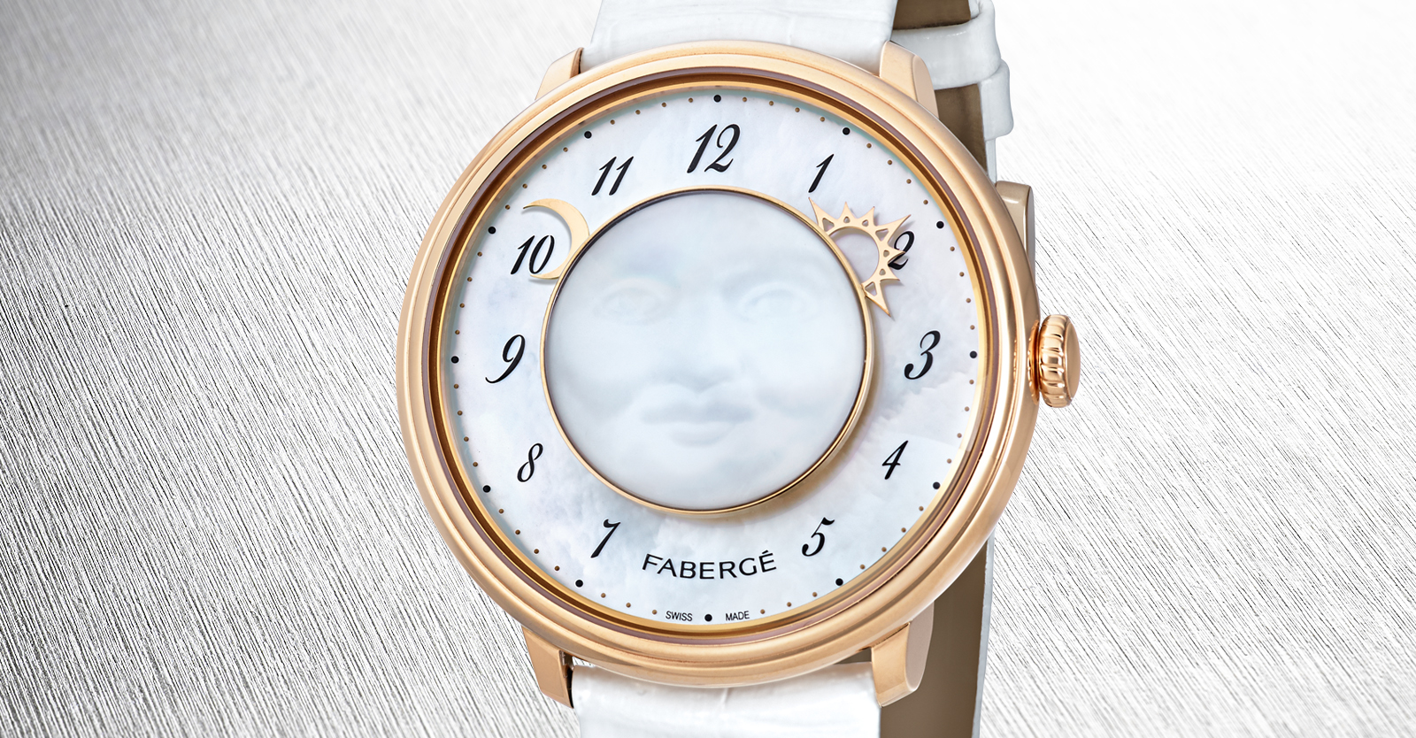 Fabergé Lady Levity Timepiece from the Fabergé Dalliance Collection.