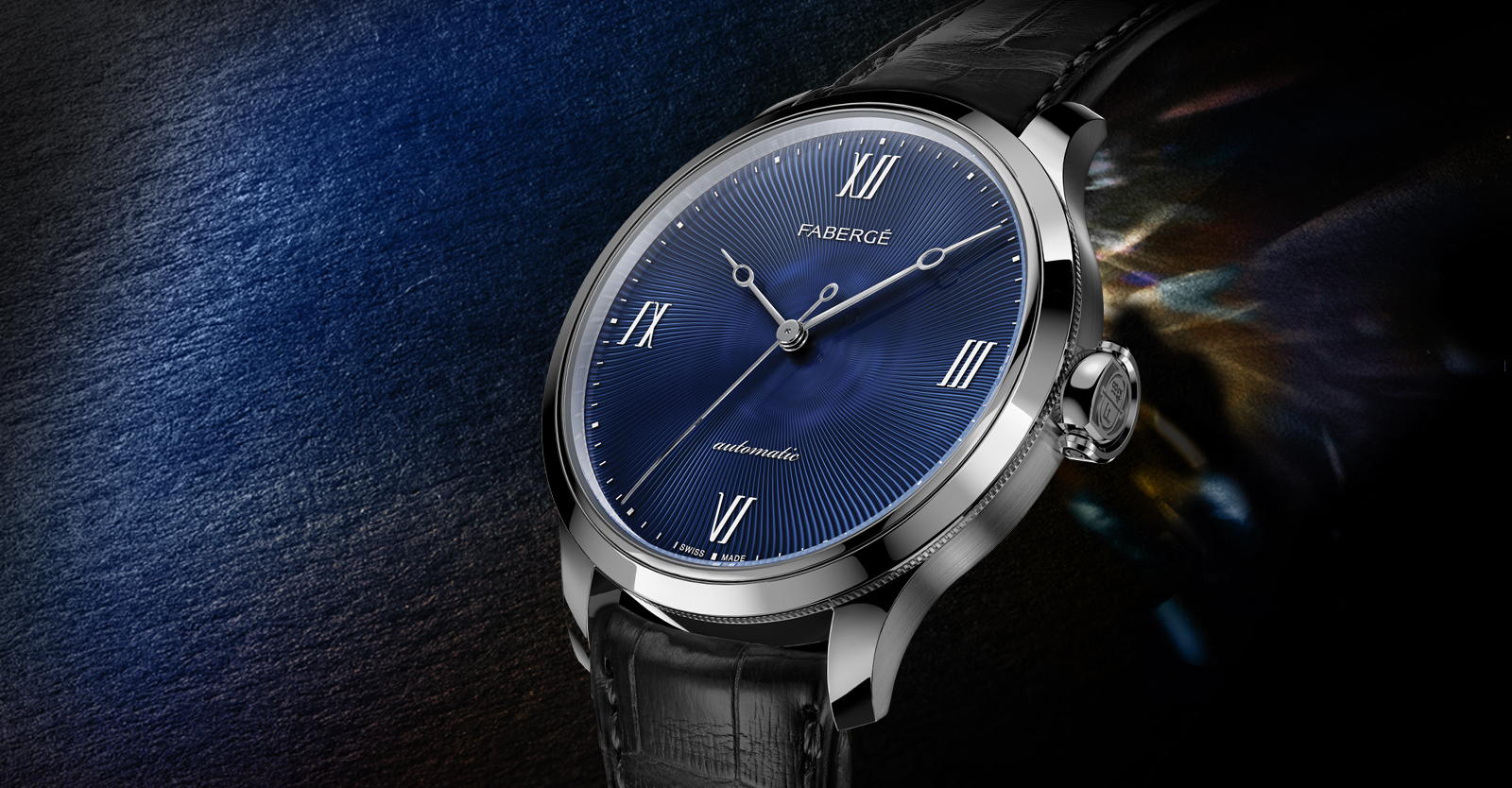 Men's timepiece from the Fabergé Altruist Collection.