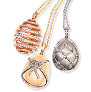 Fabergé Fine Jewellery egg pendants