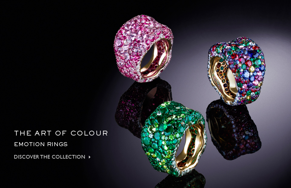 The art of Colour - Emotion Rings