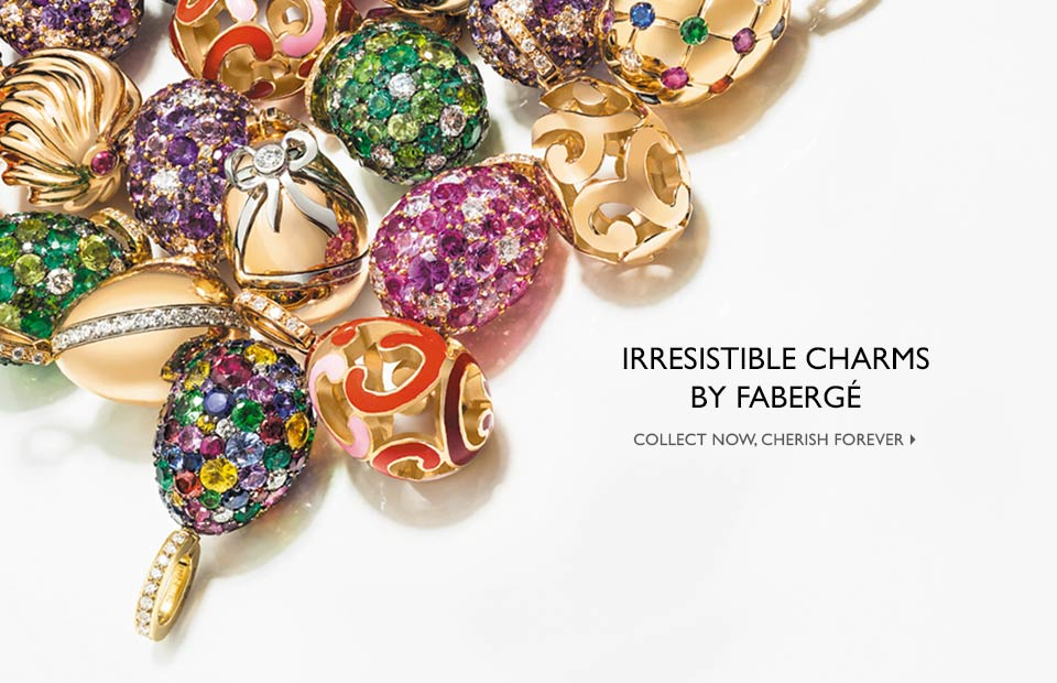 Discover The Irresistable Fabergé Egg Charms