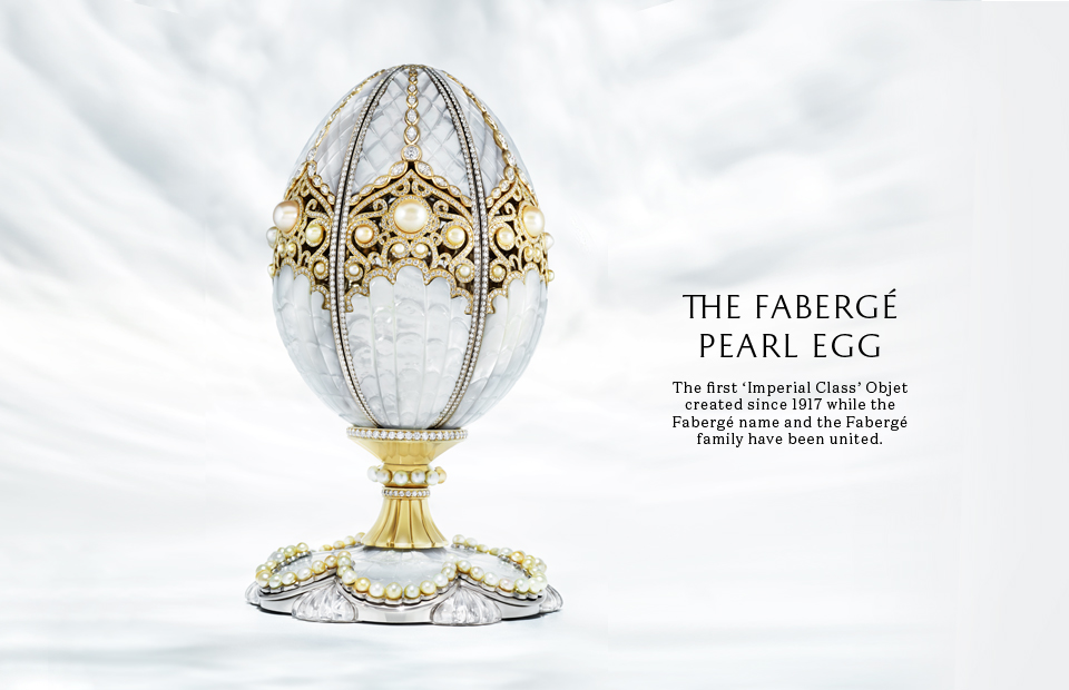 The Fabergé Pearl Egg