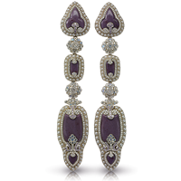 Scheherazade Long Earrings
