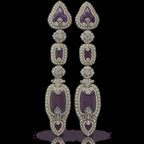 Scheherazade Long Earrings