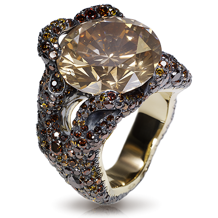 Yellow Gold & Diamond Ring | Fabergé