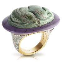 Green Scarab Ring