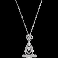 Diamond Pendant - Fabergé  Ruban de Lumiere Pendant