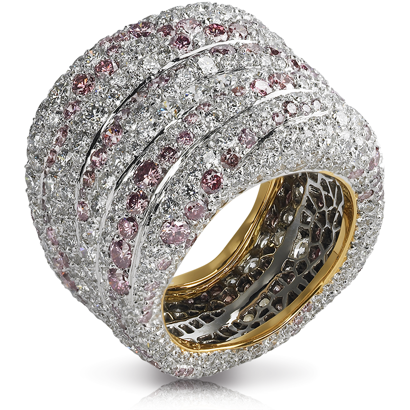Passion Rose Et Blanche Ring Les Fabuleuses Collection Faberg Com