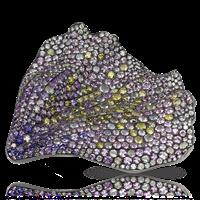 Fallen Poppy Petal Brooch