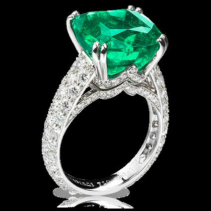 buying emerald engagement rings