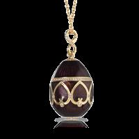 Faberge Egg Pendant - Palais Peterhof Amarantine Pendant