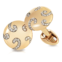 Faberge Cufflinks - Nicolai Diamond Cufflinks