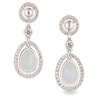 Moonstone Earrings Fabergé Sasha Moonstone Earrings