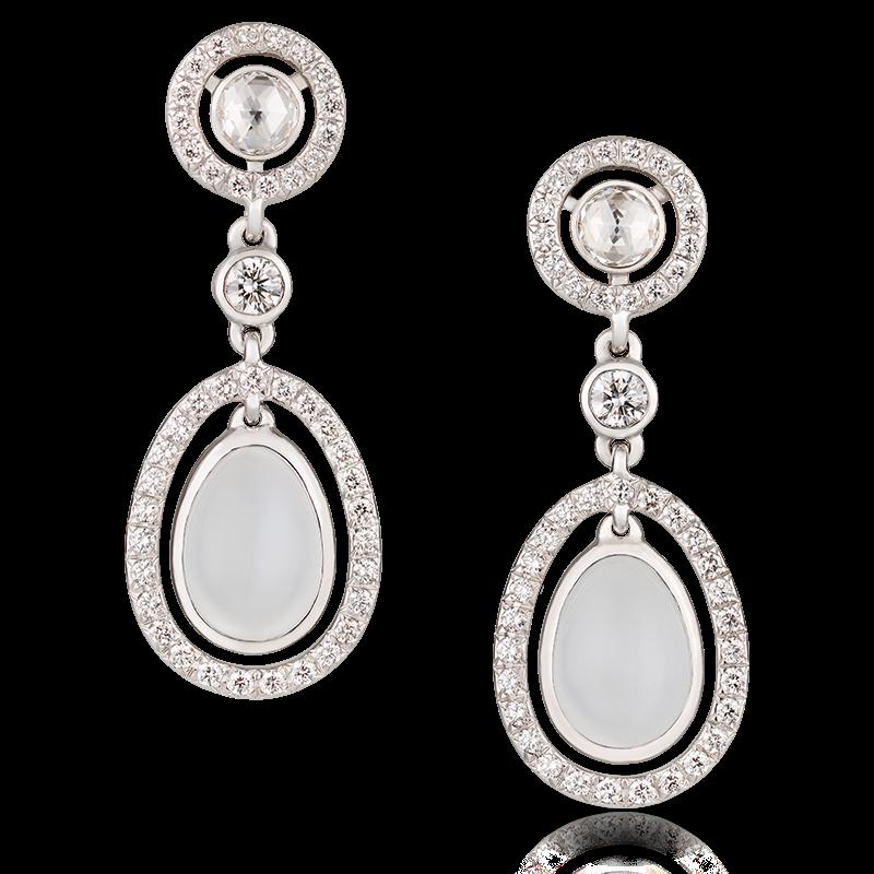 Moonstone Earrings Fabergé Sasha Moonstone Earrings