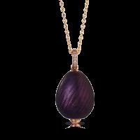 Fabergé Egg Pendant - Pure Prune Pendant