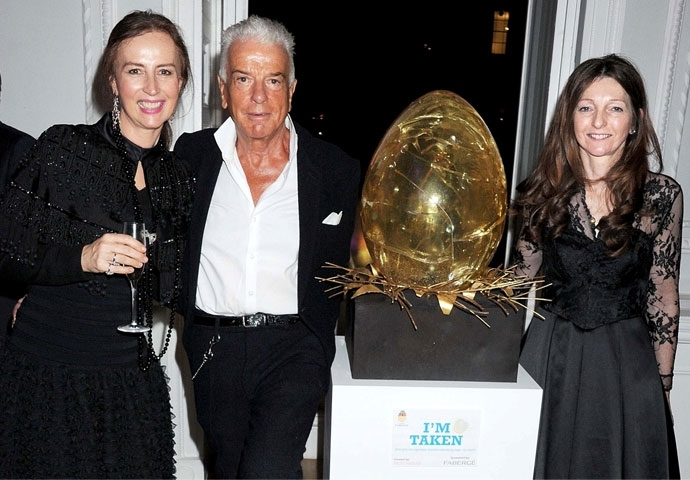 Celebrities , socialites & supporters celebrate the Fabergé's Big Egg Hunt with a glamorous Launch Party