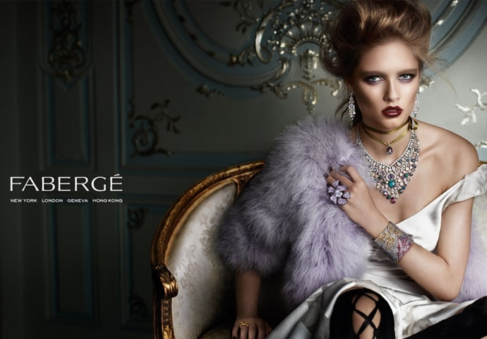 Fabergé Launches First Advertising Campaign, Photographed by Mario Testino