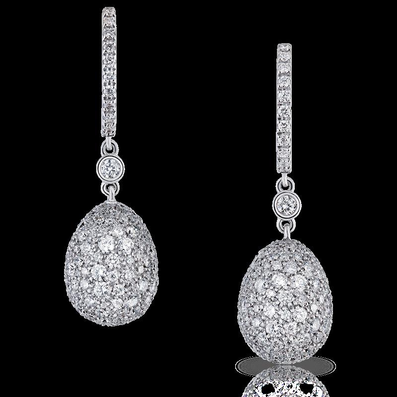 Faberge Earrings - Zarista Diamond Earrings