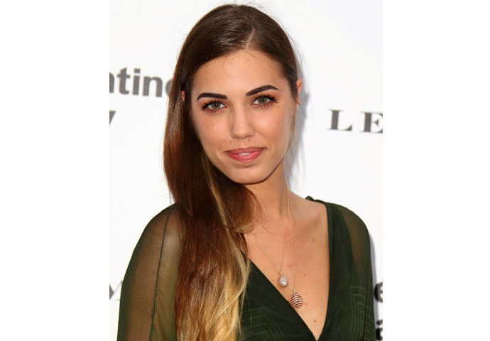 AMBER LE BON WEARS FABERGÉ AT THE SERPENTINE GALLERY SUMMER PARTY IN KENSINGTON GARDENS, LONDON