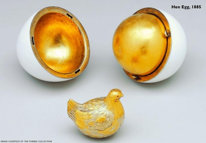 Original Russian Faberge Eggs
