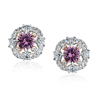Violet Sapphire Jewelry - Fabergé Marie Violet Sapphire Earrings