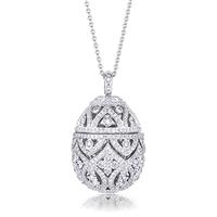 Fine jewellery egg pendants faberg egg pendants faberg faberge egg pendant zenya diamond egg pendant mozeypictures Gallery