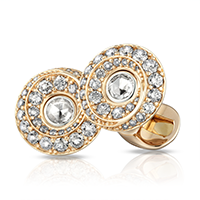 Faberge Cufflinks - Stanislav Diamond Cufflinks