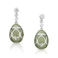 Fabergé Earrings - Palais Peterhof Véronèse Green Earrings