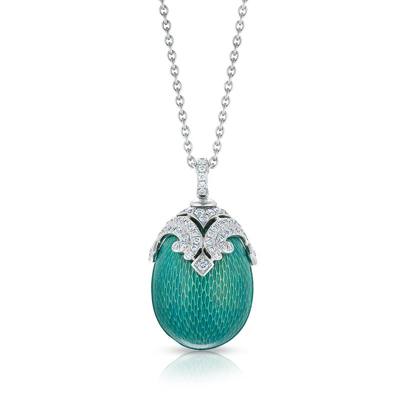 emaux green pendant faberg 201 egg pendants
