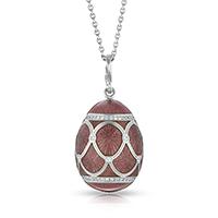 Faberge Egg Pendant - Palais Pavlovsk Violet Pendant