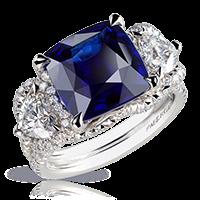 Sapphire Ring - Fabergé  Devotion Sapphire Ring