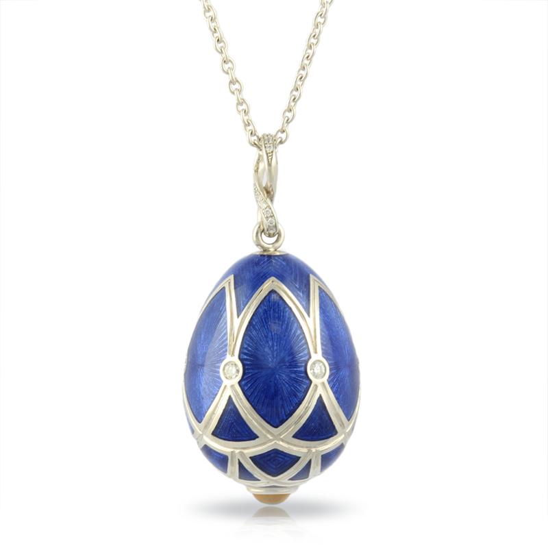palais pushkin royal blue pendant faberg 201 egg pendants