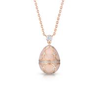 Fabergé Egg Pendant - Palais Tsarskoye Selo Diamond Rose Small Pendant