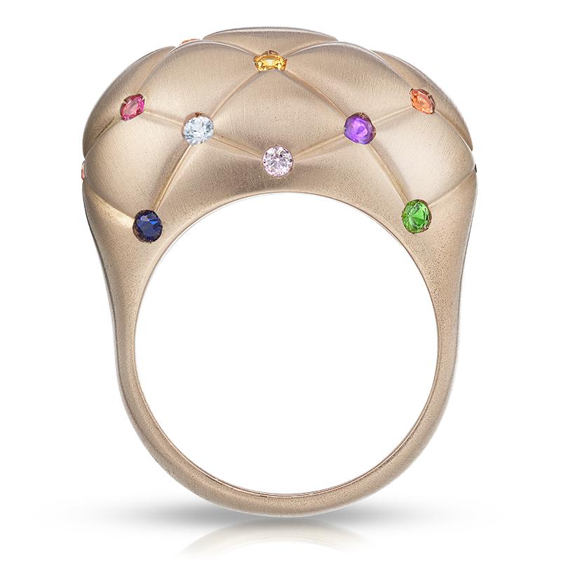 Faberge Fine Treillage Rose Ring