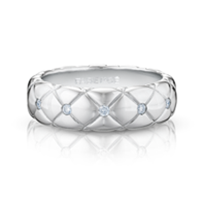 White Gold Diamond Ring | Fabergé