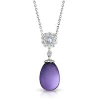 Fabergé Egg Pendant - Karenina Empereur Amethyst Pendant