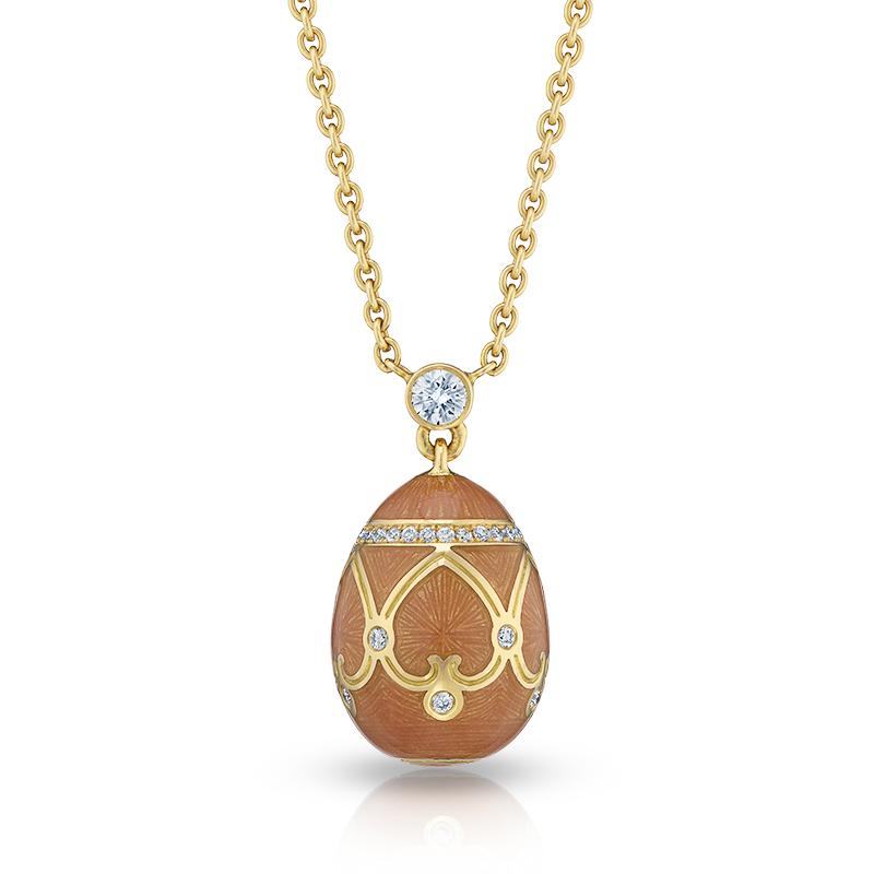 Fabergé Egg Pendant - Palais Peterhof Clementine Pendant