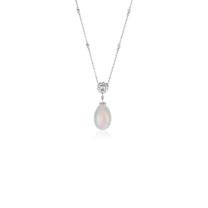 Opal Pendant Necklace – Fabergé Karenina Opal Pendant