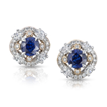 Blue Sapphire Earrings - Fabergé Marie Blue Sapphire Earrings