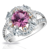Faberge Rings - Marie Violet Sapphire Ring