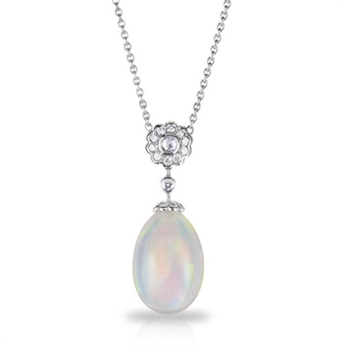 Karenina Opal Pendant