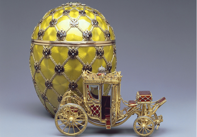 GRAND OPENING OF A FABERGÉ MUSEUM IN THE SHUVALOV PALACE, SAINT PETERSBURG