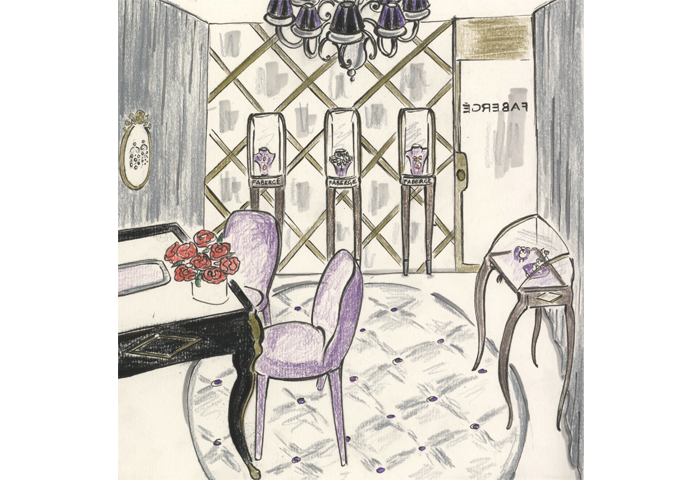FABERGÉ TAKES PART IN MIRACLE ON MADISON AVENUE, NEW YORK
