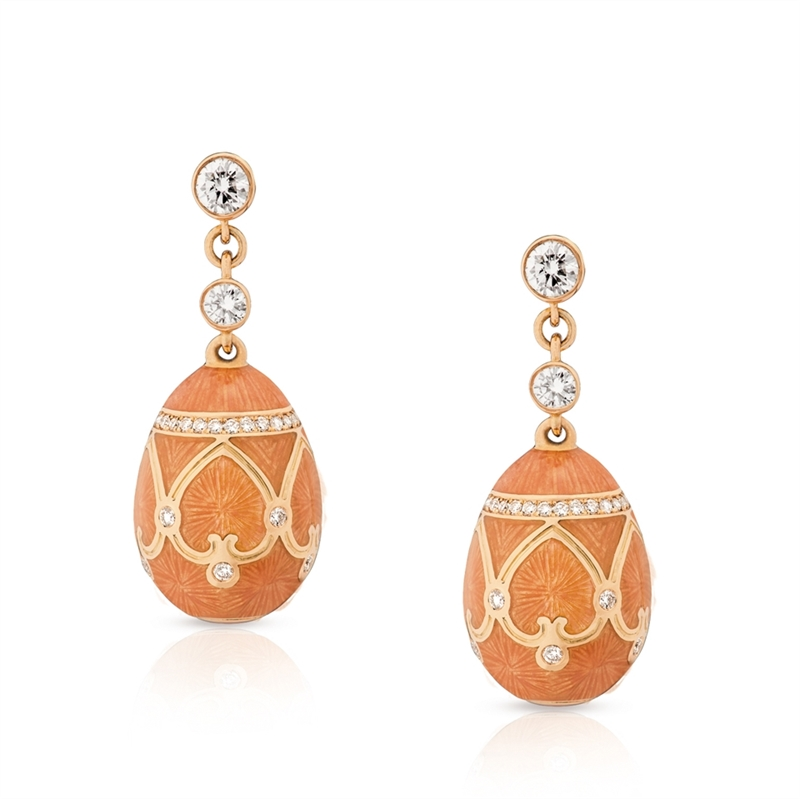 Fabergé Earrings - Palais Peterhof Clementine Earrings
