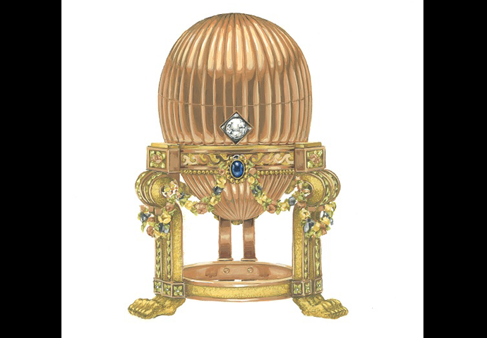 FABERGÉ IMPERIAL EGG DISCOVERED