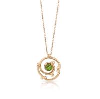 Gold and Peridot Ring - Fabergé Rococo Peridot Yellow Gold Ring