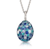 Gemstones Pendant - Fabergé Emotion Blue Pendant
